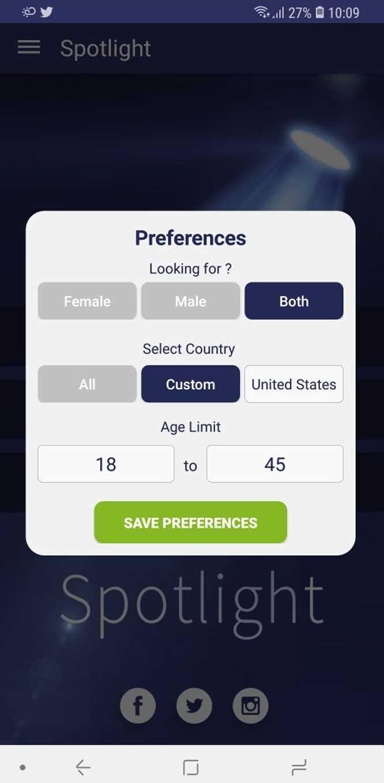 Alternativas de Spotlight - Random Video/Text Chat App y